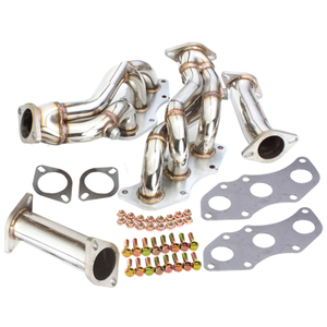 Lexus IS250 06-09 Cabezal de escape de acero inoxidable Racing Header