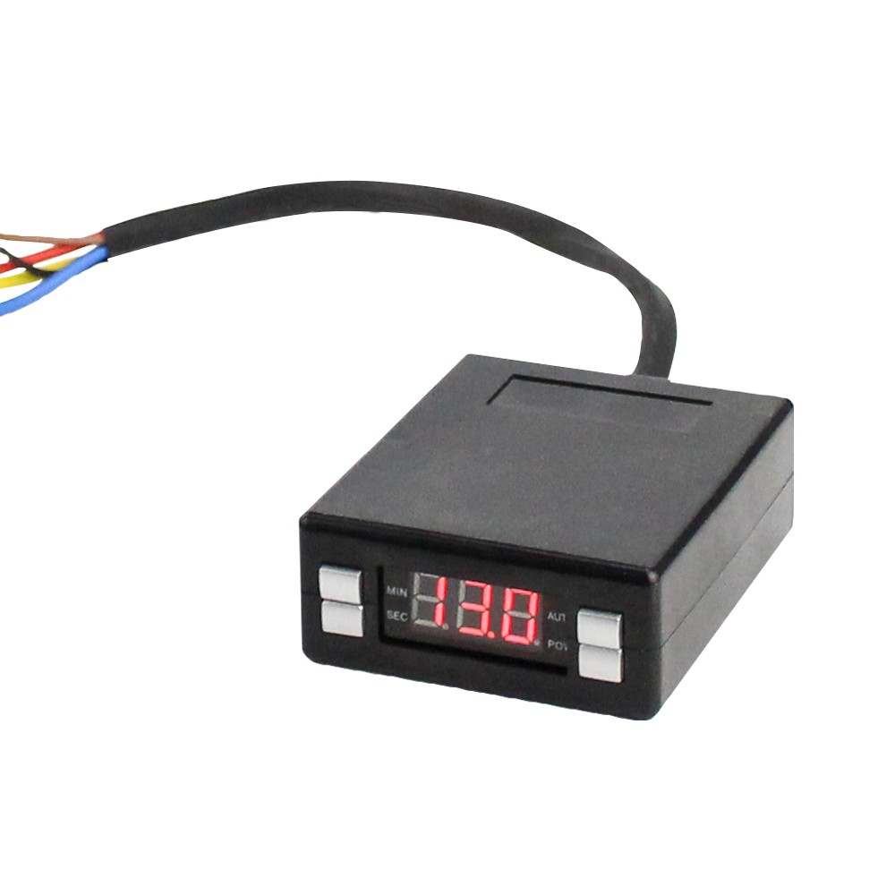 Coche Universal Racing 12V Box estilo Turbo Timer