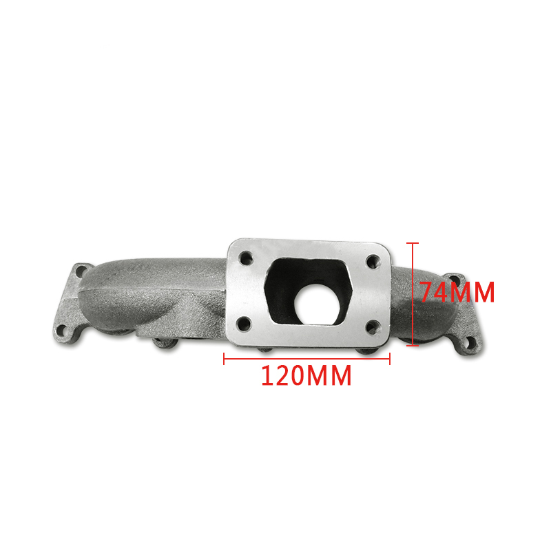 Colector de escape Turbo de carreras de hierro fundido para VW Golf Jetta 98-05